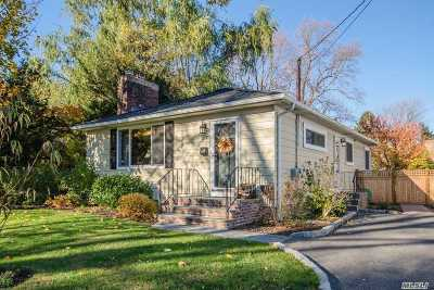 Locust Valley Single Family Home For Sale: 29 Winans Pl