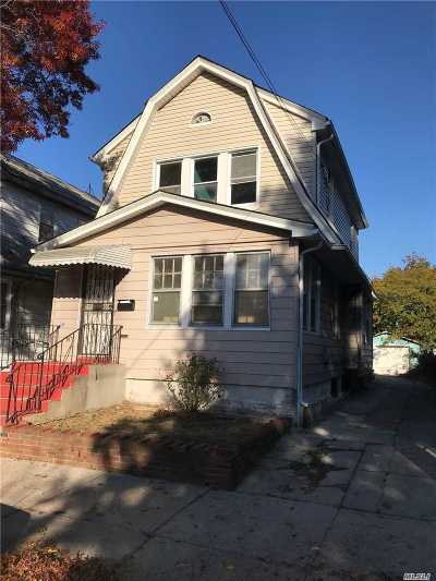 Jamaica Single Family Home For Sale: 115-23 170th St