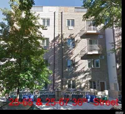 Astoria Multi Family Home For Sale: 25-65 36th Street