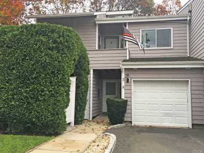 Manorville Condo/Townhouse For Sale: 8 Vista Dr