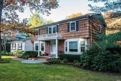 Dix Hills Single Family Home For Sale: 63 Buttonwood Dr