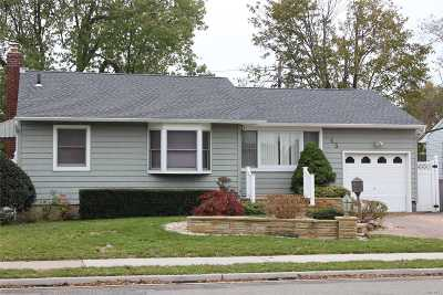 Massapequa Single Family Home For Sale: 45 N William Rd