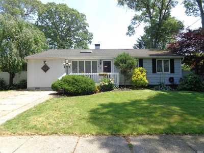 Centereach Single Family Home For Sale: 19 Selden Blvd
