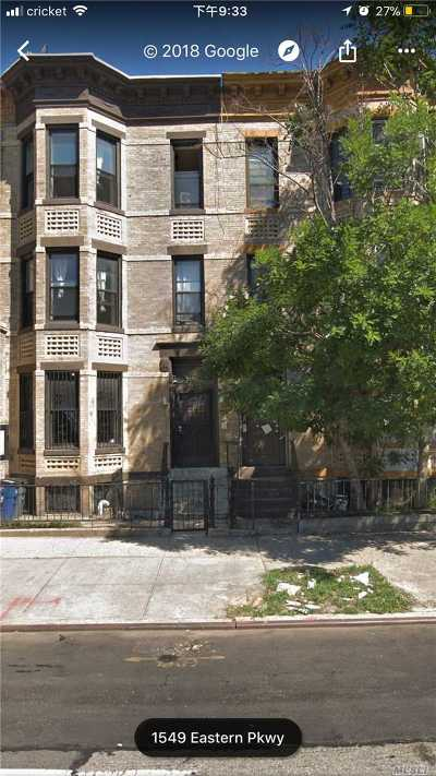 Brooklyn Multi Family Home For Sale: 1551 Eastern Pkwy