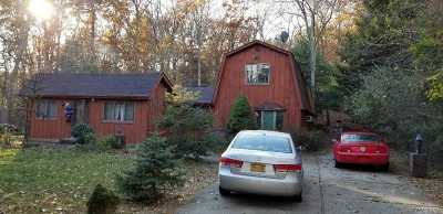 Middle Island Single Family Home For Sale: 26 Middle Island Rd