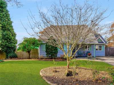 East Moriches Single Family Home For Sale: 14 Johnson Ave