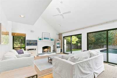 East Hampton Single Family Home For Sale: 40 Ely Brook To Han Rd