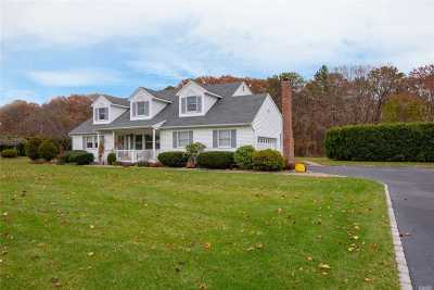 Manorville Single Family Home For Sale: 7 Badger Rd