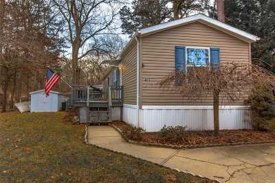 Suffolk County Single Family Home For Sale: 525/D23 Riverleigh Ave