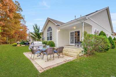 Wading River Single Family Home For Sale: 20 Little Leaf Ct