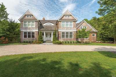 Sag Harbor Single Family Home For Sale: 1465 Noyac Path