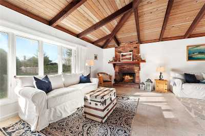 Montauk Single Family Home For Sale: 50 Beach Plum Rd