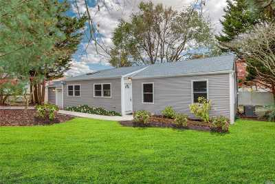 Patchogue Single Family Home For Sale: 850 Old North Ocean Ave