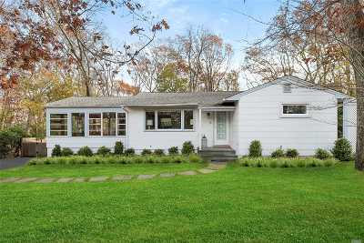 Sag Harbor Single Family Home For Sale: 30 Milton Ave