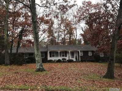 Middle Island Single Family Home For Sale: 10 Fairway Dr