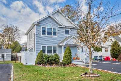 Smithtown Single Family Home For Sale: 166 Maple Ave
