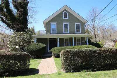 Setauket Single Family Home For Sale: 44 Main St