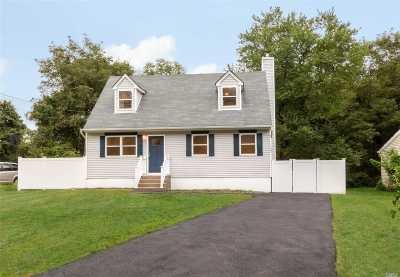 Middle Island Single Family Home For Sale: 5 Flores Ln