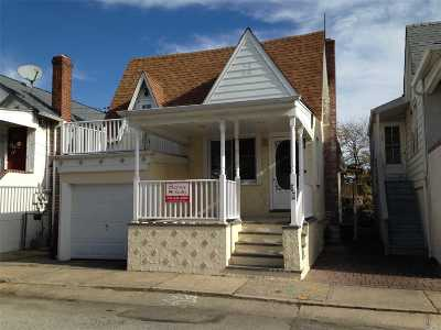 E Atlantic Beach NY Single Family Home For Sale: $529,000