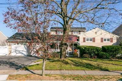 Massapequa Park Single Family Home For Sale: 233 Oak St