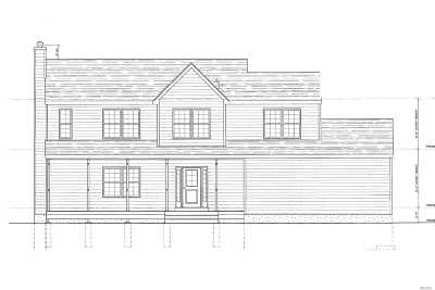 Center Moriches Single Family Home For Sale: 346 S Sunrise Hwy