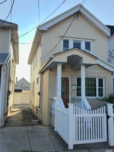 Ozone Park Single Family Home For Sale: 107-59 105th St