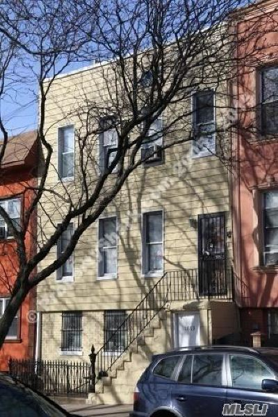 Ridgewood Multi Family Home For Sale: 1863 Starr