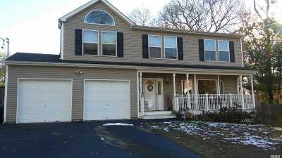 Farmingville Single Family Home For Sale: 12 Brentwood Ave