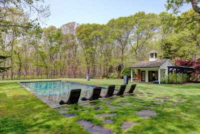 Sag Harbor Single Family Home For Sale: 90 Denise St