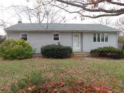 Centereach Single Family Home For Sale: 66 Ronkonkoma Blvd