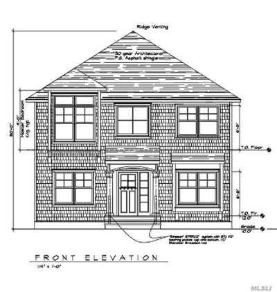 Oakdale Single Family Home For Sale: 137 Vanderbuilt Blvd
