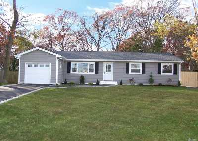 Sayville Single Family Home For Sale: 278 Lowell