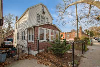 Jamaica Single Family Home For Sale: 117-10 169th St