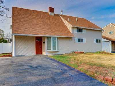 Wantagh Single Family Home For Sale: 12 Western Ln
