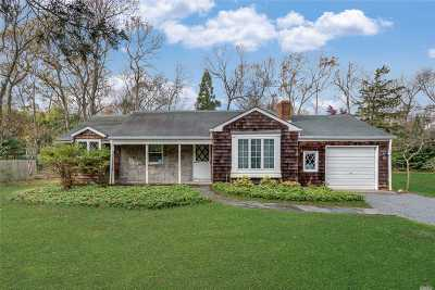 East Hampton Single Family Home For Sale: 12 Argyle Ln