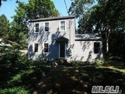 Setauket Single Family Home For Sale: 79 Lower Sheep Past Rd