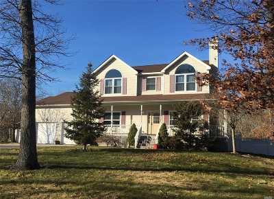 Center Moriches Single Family Home For Sale: 15 Carlile Ct