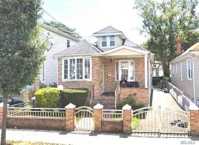 Jamaica Single Family Home For Sale: 168-20 119th Ave