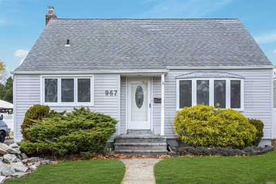 Wantagh Single Family Home For Sale: 967 Alan Dr