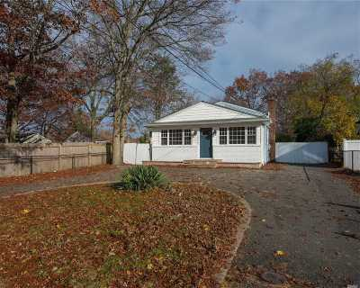 Central Islip  Single Family Home For Sale: 24 Bayonne Ave