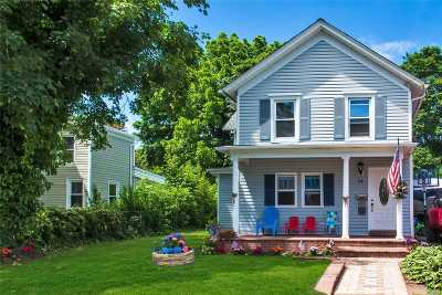 Patchogue Single Family Home For Sale: 24 Brook St