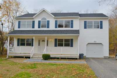 East Moriches Single Family Home For Sale: 16 Moriches Ave