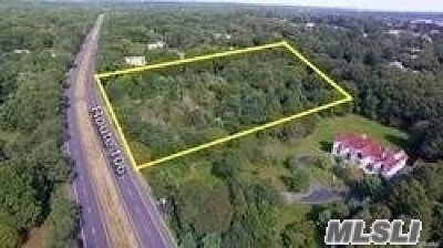 Muttontown Residential Lots & Land For Sale: 103 & 105 Route 106