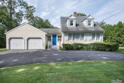 Remsenburg Single Family Home For Sale: 151 South Country Rd