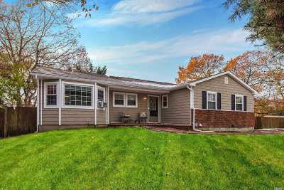 Ronkonkoma Single Family Home For Sale: 84 4th St
