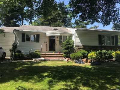 Plainview Single Family Home For Sale: 288 Manetto Hill Rd