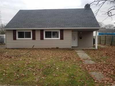Copiague Single Family Home For Sale: 14 Florida Ave