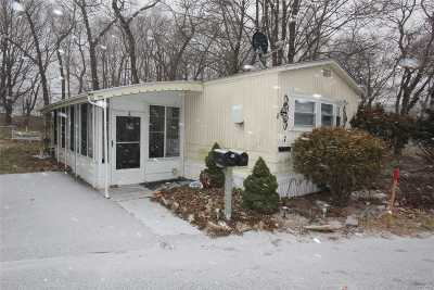 Calverton Single Family Home For Sale: 1964#7 River Rd