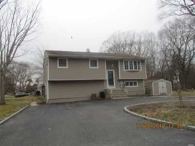 Central Islip  Single Family Home For Sale: 544 Wilson Blvd