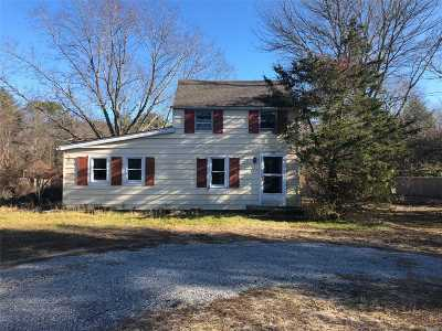 East Hampton Single Family Home For Sale: 98 Three Mileharbor Rd